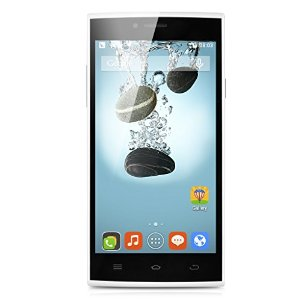 5.0'' THL T6C Android 5.1 MT6580 Quad Core 1.3Ghz Schermo Multi-Touch 854*480 1GB/8GB 1900mAh GSM 850/900/1800/1900 WCDMA 850/2100 Bianco