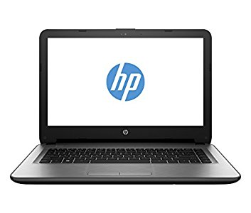 HP 14-ac006nl Notebook, Intel Celeron, SDRAM DDR3L-1333 da 2 GB, Intel Graphic HD, eMMC da 32 GB, Argento