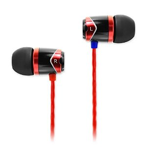 SoundMagic E10 In-Ear Earphones Colour Black/Red