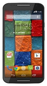Motorola Moto X (2 Generazione) Smartphone, Display 5,2 pollici Full HD, Fotocamera 13 MP, Processore Quad-Core, Memoria 16GB, Android KitKat 4.4.4, Nero [Germania]