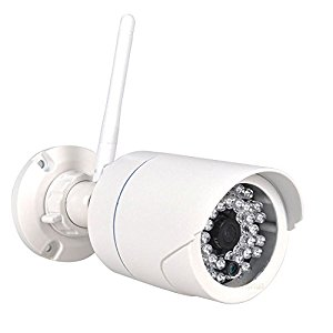 Telecamera di sorveglianza Tenvis TH692 con visione notturna Onvif V2.2 in infrarossi, 1.0 Megapixel HD Waterproof wireless IP Camera
