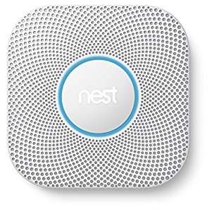 Nest Protect 2 Carbon monoxide detector Interconnectable Wireless - smoke detectors (Battery, AA, 38.5 mm, 135 mm, 135 mm, 379 g)