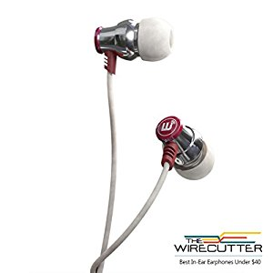 Brainwavz Delta IEM Earphones with In-Line Microphone for Android Smartphones Colour SILVER