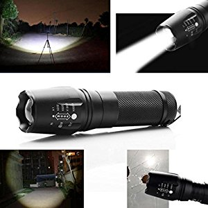 fenrad Ultra Fuoco 2200LM Zoomable CREE XM-L T6 LED 18650/26650 / AAA Torcia Fuoco Torcia LED Flashlight Torch