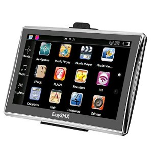 7 Pollici TFT LCD Touch Screen GPS Navigatore Mappe Precaricate Musica / Film Multi-lingua Compatibile Con Windows XP EasySMX 84H-3