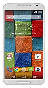 Motorola Moto X1 Smartphone, Display 5.2 pollici, Fotocamera 13 MP, Memoria 16GB, Quad-Core 2.5GHz, 2GB RAM, Android 4.4, Bianco [Spagna]