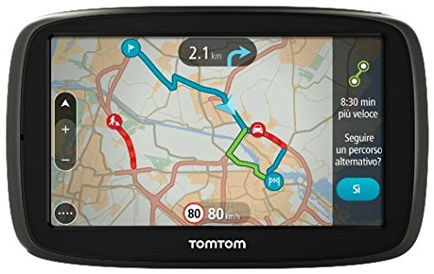 TomTom GO 51 World GPS per Auto, Segnala Traffico, Tutor&Autovelox