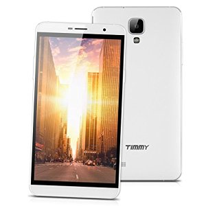 5.5 Pollici Timmy M7 Smartphone 3g Hotknot Android 4.4 Octa Core Dual Sim 8gb Otg Gps Cellulare, Bianco+oro
