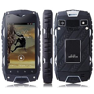 Z6 IP68 Tri-proof impermeabile Shockproof antipolvere Android 4.2 MTK6572 Dual Core 1.2GHz 512MB RAM 4GB di ROM 4.0