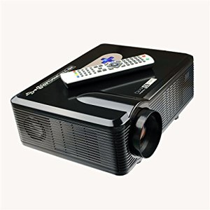 Excelvan 3000 Lumens HD LED Portatile Proiettore 3D Home Theater HDMI VGA / USB / AV / Digital TV Projector Nativa 720p supporto 1080p