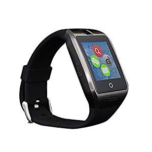 Stoga Smart Watch orologio touch screen Bluetooth anti-perso SMS Sync pedometer Watch Phone Sleep monitoring Stopwatch Photograhph Sports Smartwatch per Android phone-black