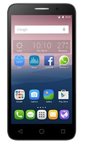 Alcatel One Touch Pop 3 (5) Smartphone, Dual SIM, Display 5' Pollici, 8 GB Memoria interna, 1Gb RAM, Fotocamera da 5 Megapixel con autofocus e flash LED, Android 5.1 Lollipop, Oro [Italia]