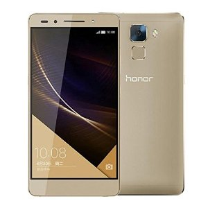 Huawei Honor 7 / Plk-Al10 64gb, 5.2 Inch Emui 3.1 / Android 5.0 Hisilicon Kirin 935 Octa Core, Ram: 3gb, Network: 4g, Dual-Band Wifi(gold)