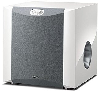Yamaha NS-SW300 Subwoofer Advanced YST II, Twisted Flare Port, Piano White