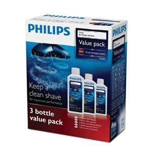 Philips - HQ203, jet clean Solution, 300 ml (Pacco da 3)
