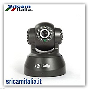 Ap002 Sricam Italia Ip Camera wifi Wireless HD- H.264- IRCUT- Registrazione su SD